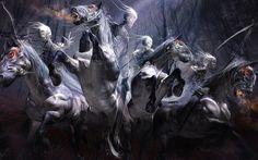 Four Horsemen of the Apocalypse Wallpaper