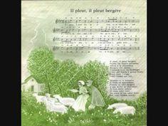 Il pleut, il pleut bergère -  Les Quatre Barbus - 1958 - YouTube