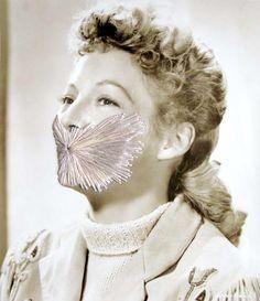 Julie Cockburn - will stitch you up!