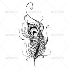 stylized line drawing seahorse - Google Search