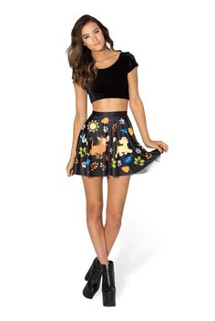 Hakuna Matata Skater Skirt by Black Milk Clothing $60AUD