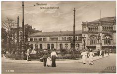 Hannover Hauptbahnhof 1908 - Langenhagen - myheimat.de                                                                                                                                                     Mehr