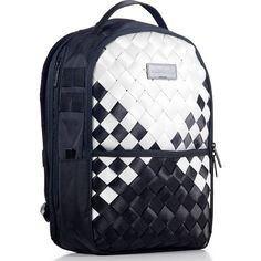 763ef50946b6 Sprayground Checkered Kumo Japanese Weave Deluxe Backpack BlackWhite     Click image for more details.