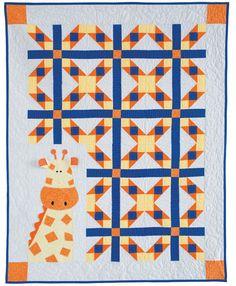 Georgie Giraffe quilt pattern by Deb Grogan