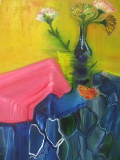 tual üzerine yağlı boya