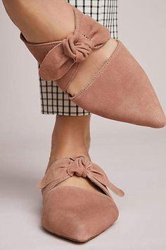 Jeffrey Campbell Charlin Bow Mules #affiliate