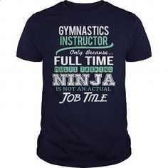 Awesome Tee For Gymnastics Instructor - #t shirt creator #cute t shirts. BUY NOW => https://www.sunfrog.com/LifeStyle/Awesome-Tee-For-Gymnastics-Instructor-146722136-Navy-Blue-Guys.html?60505