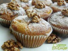 Muffiny z dynią, marchwią i jabłkami