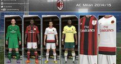 PES 2014 AC Milan 2014-2015 Forma – Kit GDB