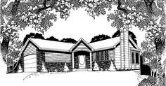 Eplans Cottage House Plan - Two Bedroom Cottage - 1075 Square Feet and 2 Bedrooms from Eplans - House Plan Code HWEPL63335