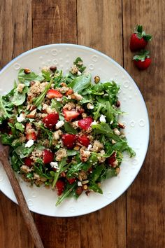 Strawberry, Quinoa +