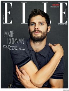 Jamie Dornan Sits for Relaxed Elle UK February 2015 Cover Photo Shoot