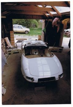 My first e-type rebuild it come to me as a very rusty body shell and about 8 tea chests of bit including all mechanical parts took me 18 months won everything in its class on first showing