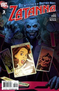 """Zatanna (2010) - #3 """"Night On Devil Mountain"""""""
