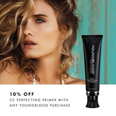 10% off CC Perfecting Primer when pruchasing any other #YB products till th end of the April #beautybayside #bestbeautysalontownsville 47712122