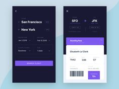 Boarding Pass Page