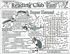 SUPER HEROES - (Onomatopoeia fun) - this discounted bundle includes the following products:  �� Super Heroes and Super Powers Two-Page Act ��  Super Hero Action Sounds (Onomatopoeia) Word Search Puzzle �� Super Heroes Reading Log and Certificate Set