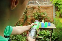 Science For Kids: How To Make A Rubber Band Cannon