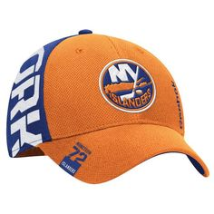 New York Islanders Reebok Youth 2016 NHL Draft Structured Flex Hat - Orange/Royal - $23.99