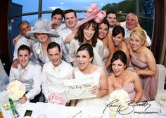 This photo was taken at the top table of the Mulranny Park hotel. I wanted to give it a 'Selfie' feel, so I used a fisheye lens. Fisheye Lens, Park Hotel, Bridesmaid Dresses, Wedding Dresses, Laughter, Families, Selfie, Weddings, Table