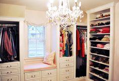 10 Amazing Master Closets + Organizing Ideas