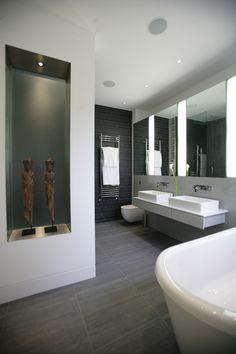 Bathroom interior, London