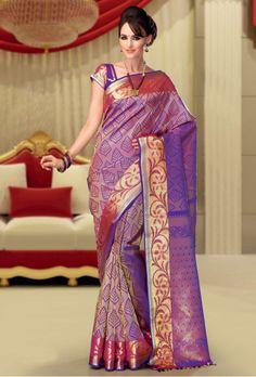 Chennai Silks - Wedding Silk Saree - DAK006 Rs. 15,595.00
