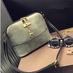 Nubuck Leather Women Crossbody Bag //Price: $17.82 & FREE Shipping // #handbag #awesome #bagsdesigns