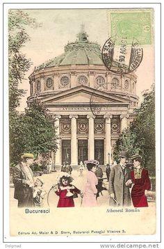 Bucuresti - Ateneul - 1906