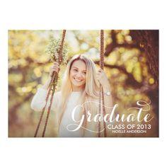 SWEETEST GRAD   GRADUATION INVITATION #fineanddandypaperie #classof2013