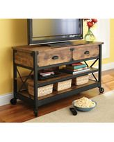 Better Homes And Gardens Rustic Country Coffee Table, Antiqued Black/pine Finish…
