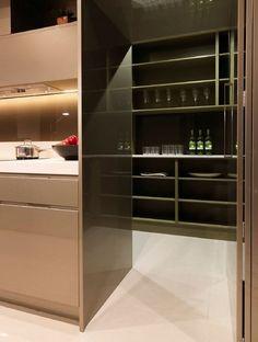 contemporary butlers pantry design storage ideas open shelves minimalist design ideas