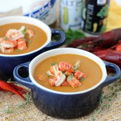 Reinvent leftover crawfish with this lighter version of incredibly delicious Crawfish Bisque. Gluten-free and can be dairy-free.