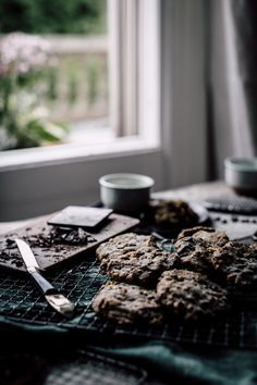 Chocolate Chip Cookies (Paleo, Grain-free, Gluten-free, Refined-sugar-free)