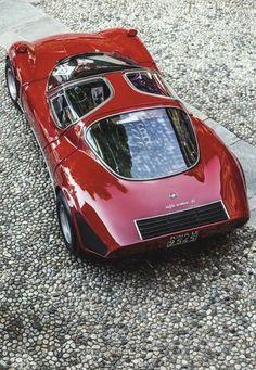 Alfa Romeo 33 Stradale - That's Different - Auto Alfa Romeo 4c, Alfa Romeo Cars, Alfa 4c, Alfa Cars, Sexy Cars, Hot Cars, Classic Sports Cars, Classic Cars, Retro Cars