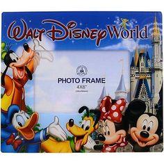 Disney Picture Frame - Mickey & Friends - Walt Disney World - 4 x 6