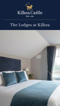 Enjoy Kilkea Castle at your own pace and book a room in our Lodges overlooking the impressive Golf Course with the majesty of the Castle as your backdrop. The Lodges at Kilkea Castle are the perfect retreat for families, friends and golfing groups. Lodge Bedroom, Castle Bedroom, Castle Hotels In Ireland, Castles In Ireland, Why Book, Free Wifi, Lodges, Families, Bedrooms