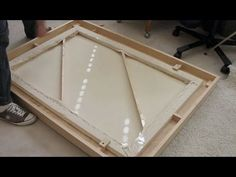 ▶ How to Make a Large Wooden Picture Frame - YouTube