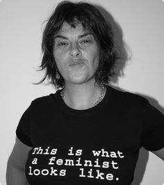 Tracey Emin in 'this is what a feminist looks like' t-shirt What Is A Feminist, Feminist Art, Tracey Emin Art, Artist Workspace, Make Art, Artist At Work, T Shirts For Women, Female, Inspiration