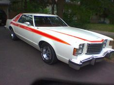 TOUCH this image: The Ford Ltd II was quintessential sporty car you could g. by Cameron Newton Rat Rods, Grand Torino, Vintage Cars, Antique Cars, Classic Cars Usa, Ford Ltd, Ford Torino, Us Cars, Car Ford