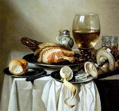 Pieter Claesz  (Berchem 1597 – Haarlem 1660) Still Life c. 1625