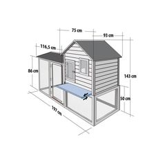 Chicken Coop Plans Free, Chicken Coop Designs, Building A Chicken Coop, Chicken Barn, Chicken Toys, Rabbit Hutch Plans, Rabbit Hutches, Wooden Dining Chairs, Chickens Backyard