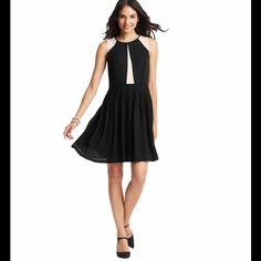 "Spotted while shopping on Poshmark: ""Loft colorblocked pleated skirt dress""! #poshmark #fashion #shopping #style #LOFT #Dresses & Skirts"