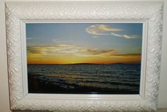 Sunset photography  framed photo van PurePopulus op Etsy, $24,95