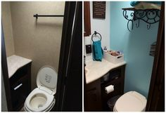 """Check out my newest blog """"Before & After"""" showing what all we did while remodeling the Camper! Visit http://myrvliving.tumblr.com/post/94844428294/before-after"""