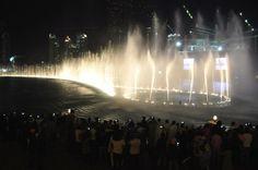 Dubai Turistica - A magnífica e muito divertida Dubai Fountain