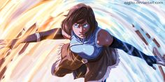 Avatar Korra  by aagito.deviantart.com on @DeviantArt