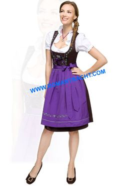 d104a1ef87d9 German Mid Dirndl Dress. 70% Cotton 30% Pollster. Price Just 15 Euro