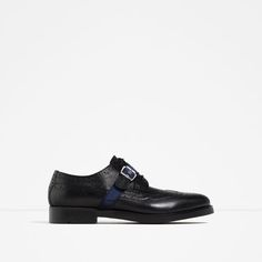 ZARA - MAN - BUCKLED LEATHER SHOES