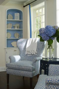 love wing back chairs